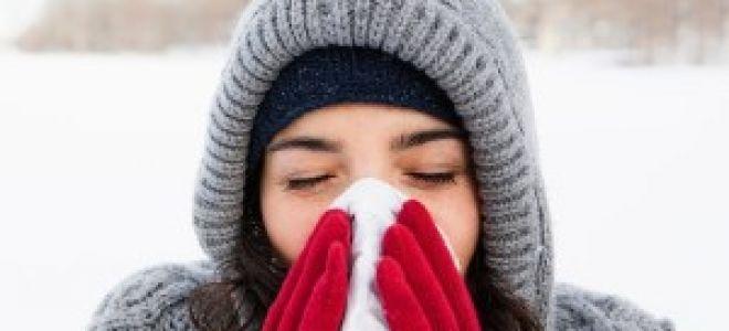 Лечение холодовой аллергии при астме