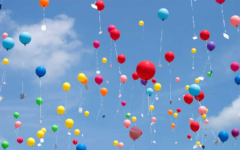 Воздушные шары - эмблема дыхания