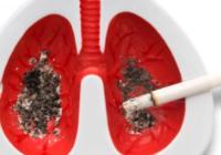 Курение вызывает рак легких[