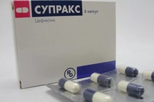 Симптомы и лечение острого бронхита: Супракс