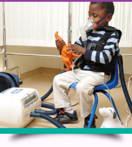 Кислородотерапия у детей