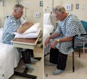 Симптом отека легких - ортопноэ