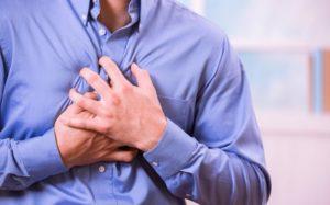 Боль за грудиной - симптом ахалазии кардии